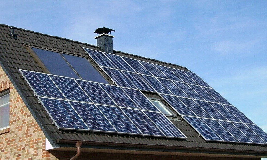 solar panels help create a more energy efficient home